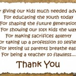 Appreciation Messages for Teachers – Appreciation Quotes, Sayings