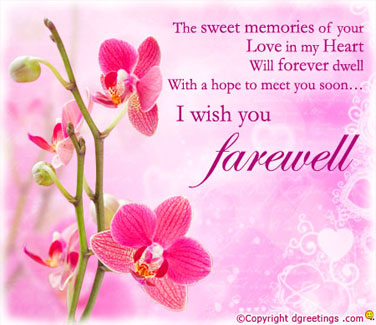 Farewell Wishes Messages for Colleagues, Friends, Students ...