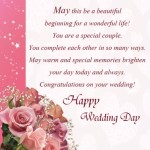 Wedding Card Wishes Quotes – Congratulations Messages on getting married