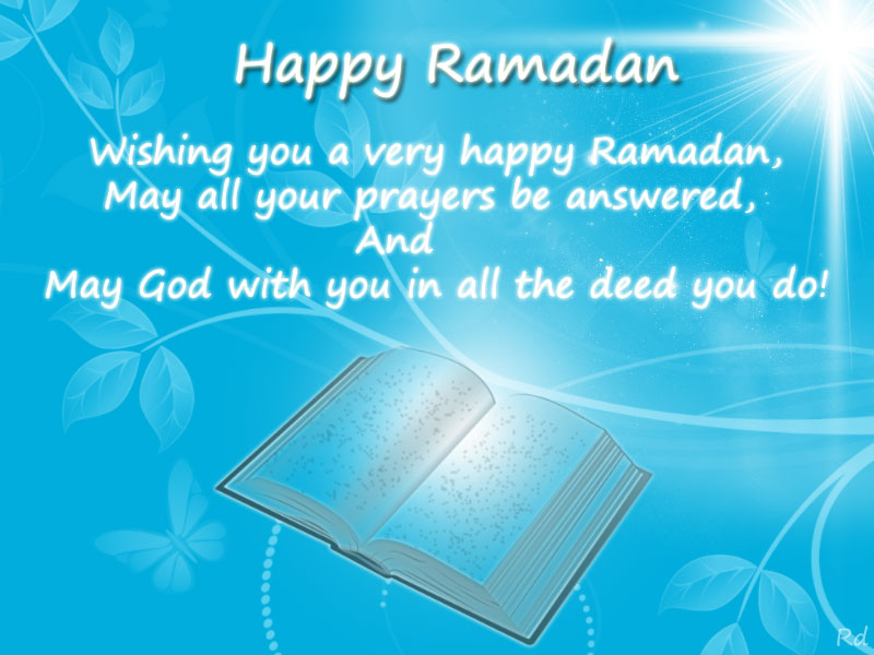 Ramadan Mubarak Messages for Greetings Cards May God Bless You and Your Family Images, Wallpapers