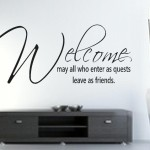 Welcome Wishes Messages for Guests – Welcome Note, Wording Ideas