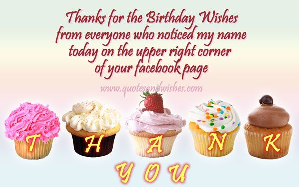 Beautiful Thank You for Birthday Wishes Friends Images Wallpapers, Photos