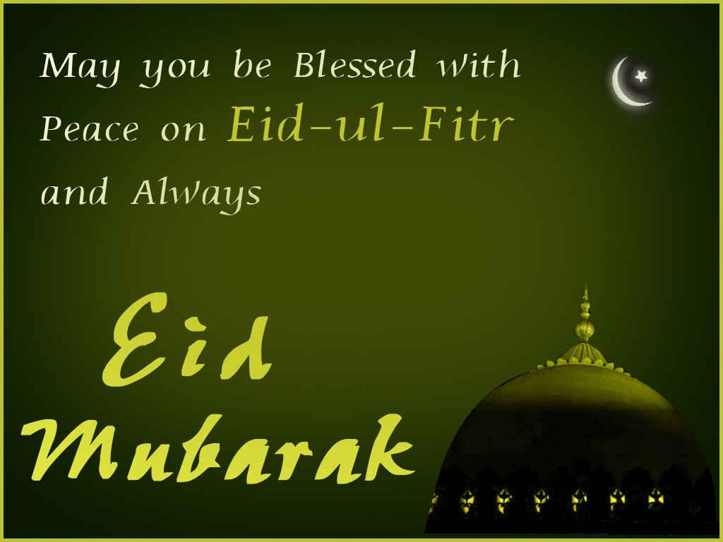 Blessed and Peace on Eid ul Fitr Mubarak Images, Wallpapers, Quotes Pictures