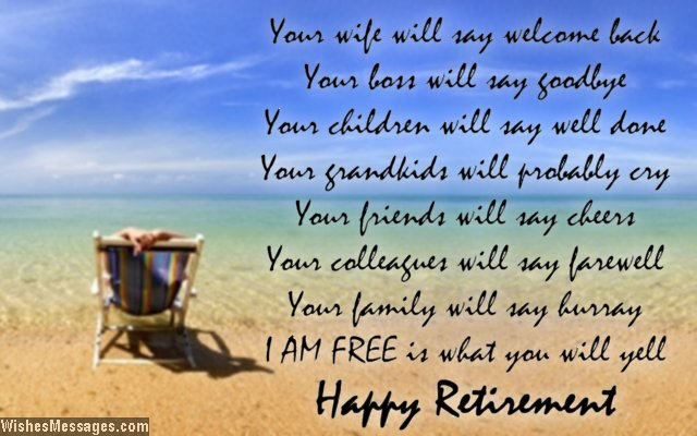Happy retirement wishes for friends text for retirement cards images congratulations on your retirement wishes messages quotes pictures download m4hsunfo