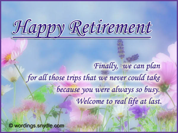 Happy Retirement Wishes Messages Greetings Cards Images, Wallpapers