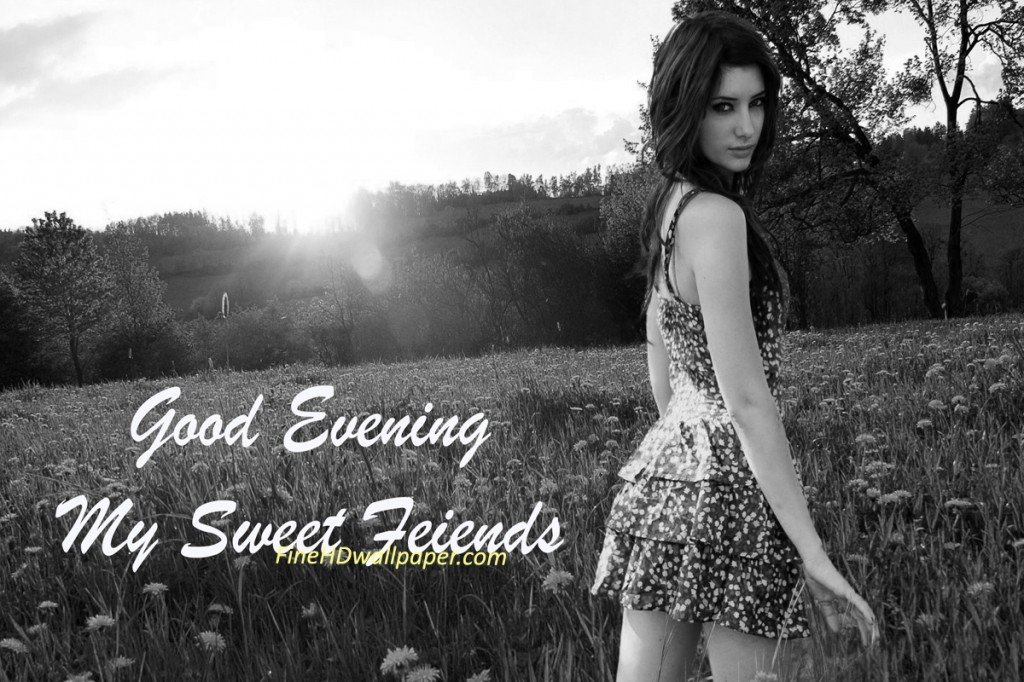 Good evening Wishes Messages for Friends Images Wallpapers