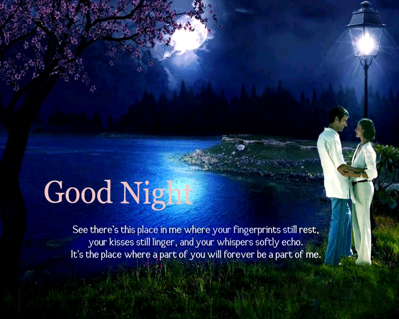 Good night wishes messages images for girlfriend wallpaper Download