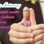Wedding Anniversary Messages to Couples – Happy anniversary Wishes Pic