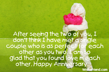 Wedding Anniversary Card for Couples