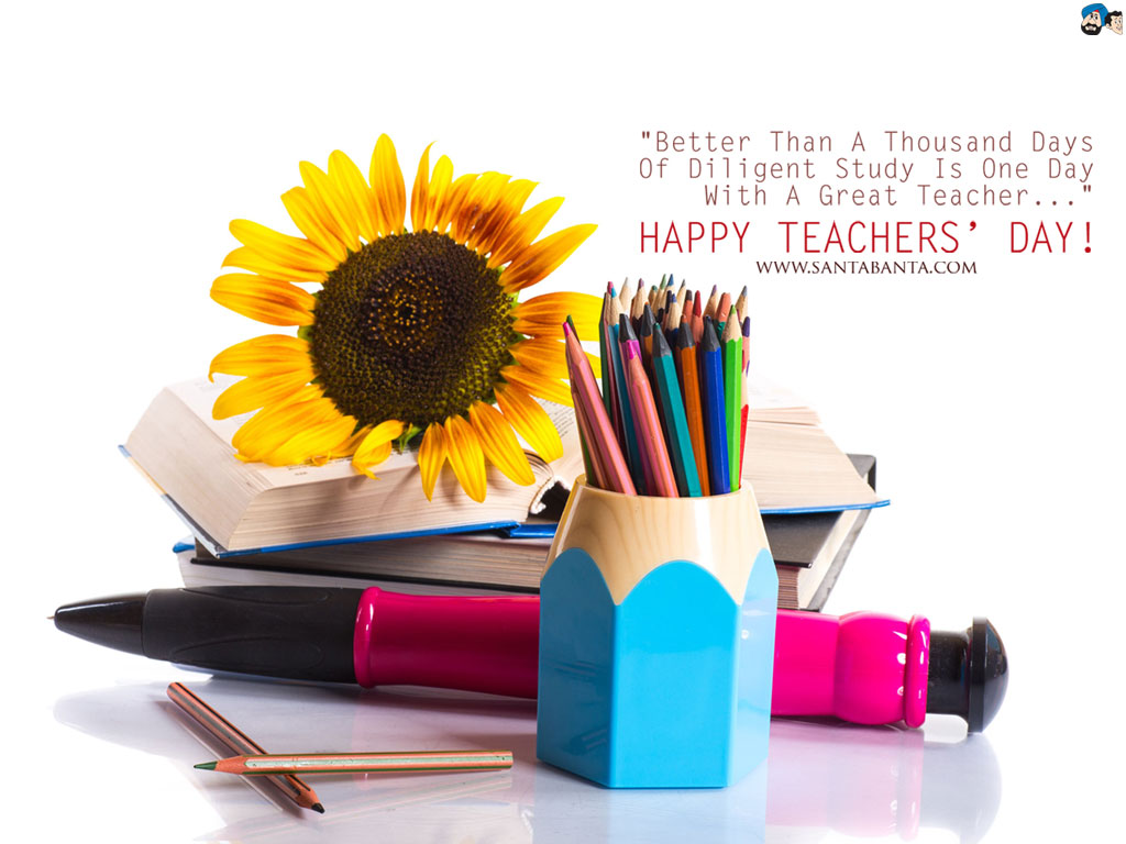 Amazing Teachers Day 3D HD Wallpaper Free Download with Messages