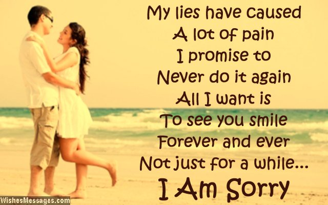 I am Sorry Messages for bf or gf - I m Sorry Apology Quotes Images