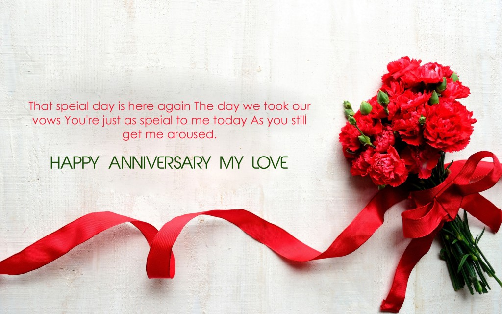 Happy Anniversary wishes to husband HD wallpaper - Lovely Greetings Messages Images