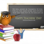 Happy Teachers Day 2015 Wishes Wallpapers Quotes Messages Status Thoughts