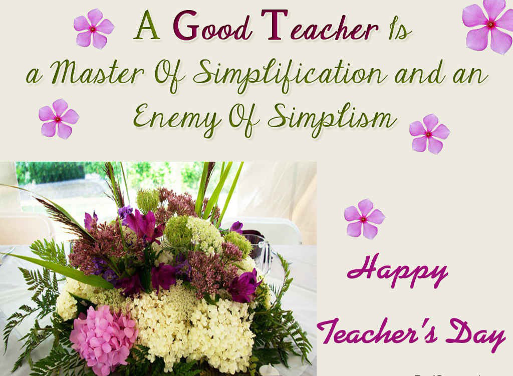 Happy Teachers Day Inspirational Quotes and Sayings Images Wallpapers