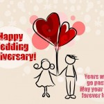 Happy wedding anniversary wishes to a couple – Best Αnniversary Quotes