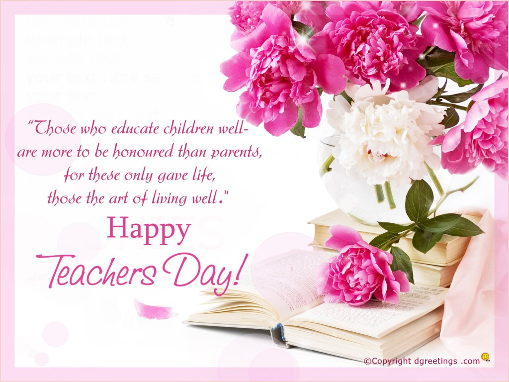 Teachers Day Inspirational Quotes Messages Images Wallpapers Photos