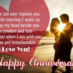 Happy Wedding Anniversary Wishes for wife Messages Quotes Images