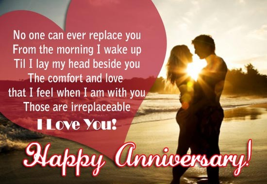 Happy Wedding Anniversary Wishes for wife I Love You Messages Quotes Images