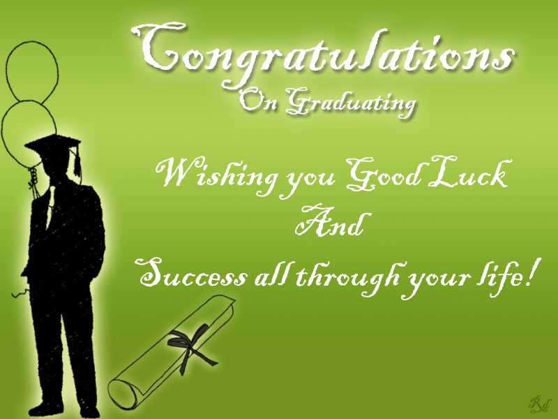 Congratulations for Graduation Messages Wallpapers