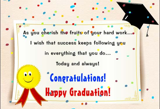 Congratulations for Graduating Messages Wishes Quotes ...