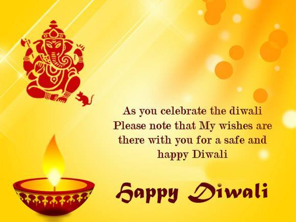Happy Diwali English Wishes Messages with Beautiful Pictures