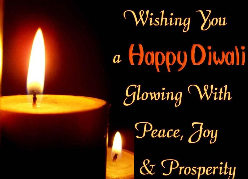 Wishing you Happy Diwali Growing with peace, joy & prosperity