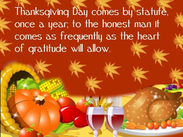 Thanksgiving Greetings, Messages, Wishes, Sayings Wallpapers