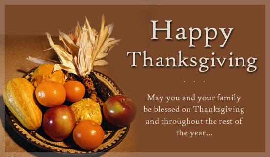 Thanksgiving Wishes Messages for Business