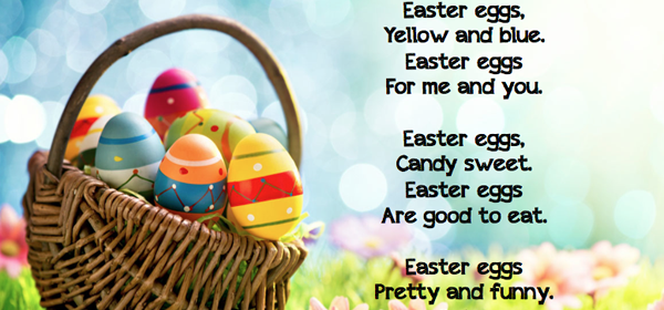 Easter Eggs Poems with images
