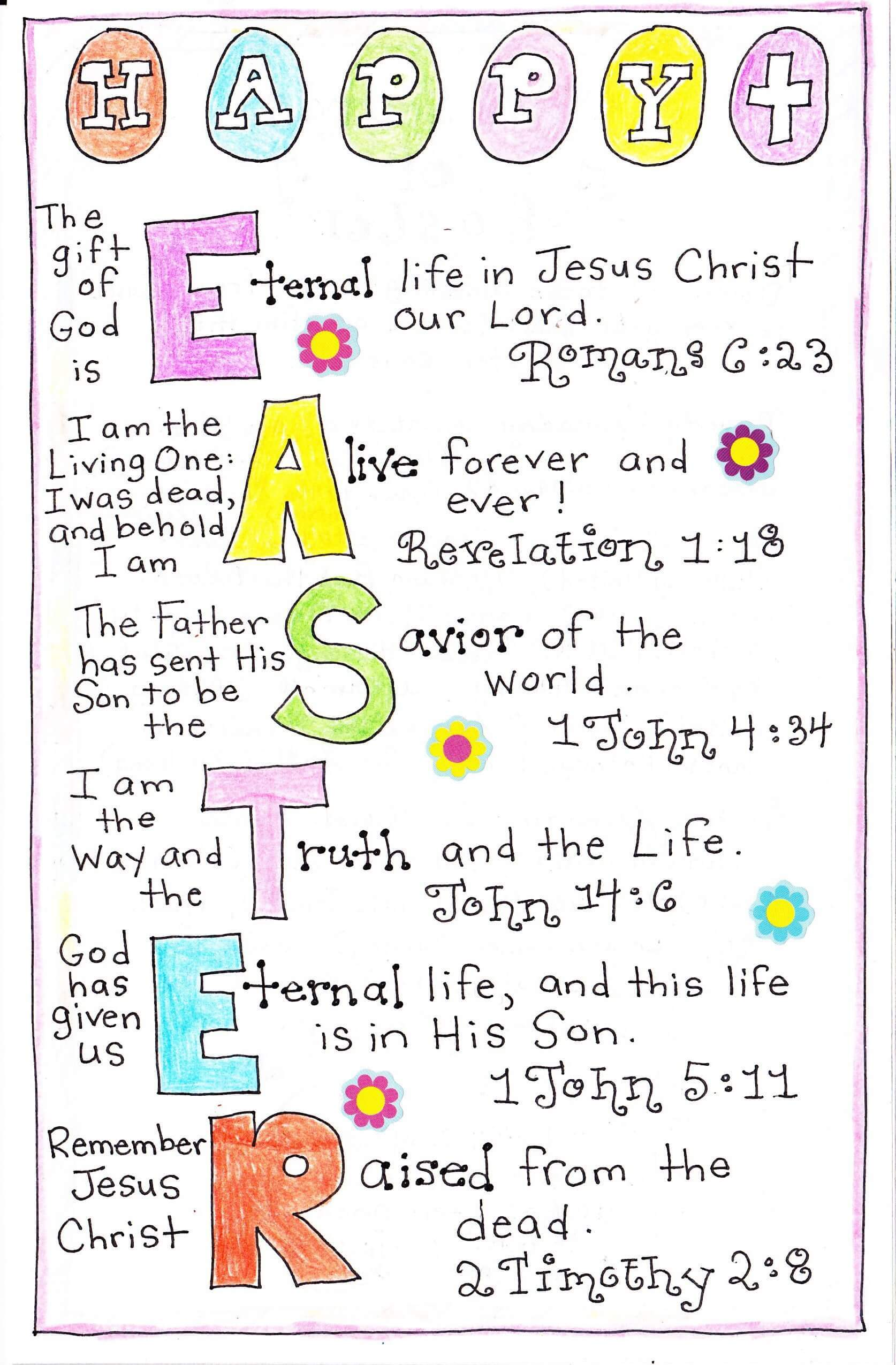 Easter Poems for Kids with Beautiful Pictures