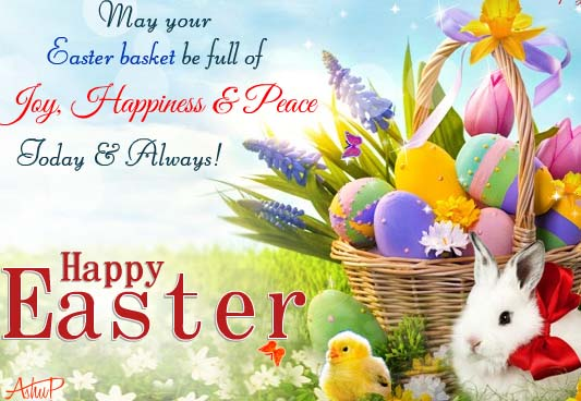 Great Happy Easter 2018 Wishes, Messages, Quotes with Pictures