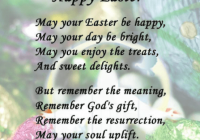 Happy Easter 2018 Poems