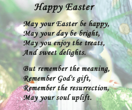 Happy Easter 2018 Poems - Best Wishes Messages - Latest ...