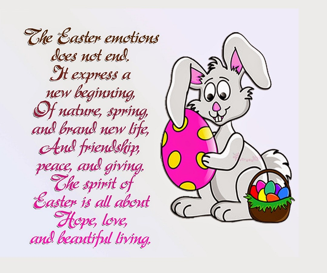 Happy Easter Poems for Everyone, Kids, Adults, family, friends and relatives
