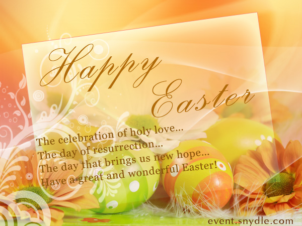 Happy Easter Wishes, Messages, Quotes with Pictures