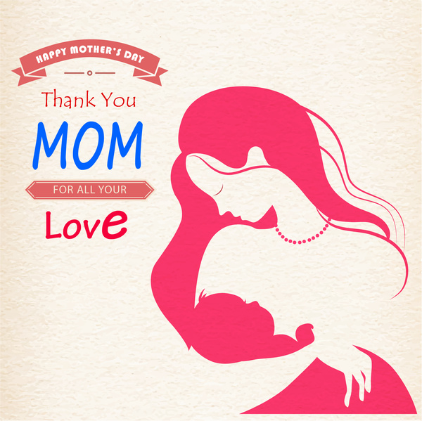 Happy Mothers Day Thanks you Mom for All your Love