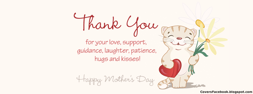 Mothers Day Facebook Timeline Cover Image