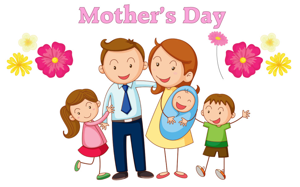 Wish you a Happy Mother's Day, My Sweet Mom