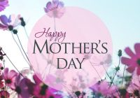 Wish you a very Happy Mother day